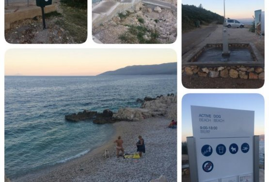 DOGS WELCOME: Pasja plaža Rabac